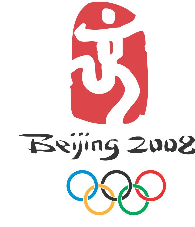 Sign of Olympic 2008