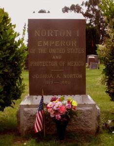 Grab von Kaiser Joshua Norton