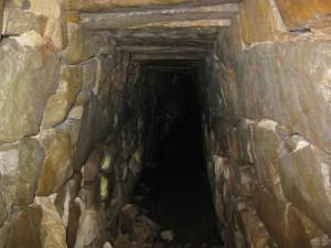 Tunnel in Sibermine