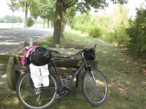 Rastplatz fürs Fahrrad